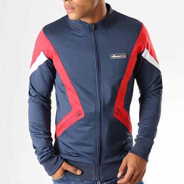 Veste Zippée Winsted Bleu Marine Rouge