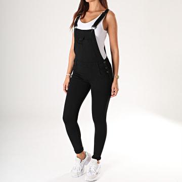 Salopette Pantalon Femme Q016 Noir