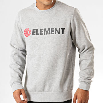 Sweat Crewneck Blazin Crew Gris Chiné