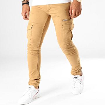 Pantalon Cargo Tonvui Mahevan Beige
