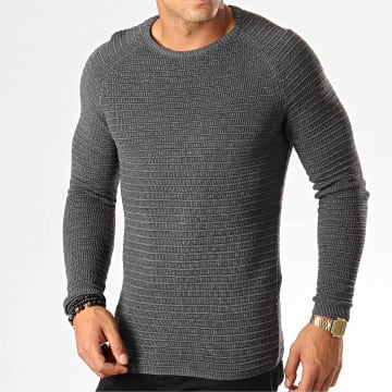Ikao - Pull F585 Gris Anthracite