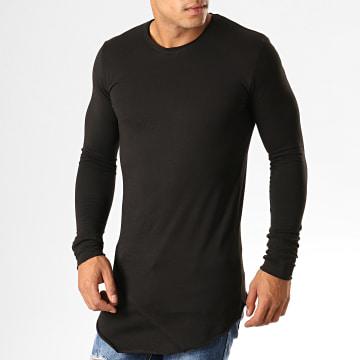 Tee Shirt Manches Longues Oversize F652 Noir