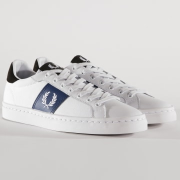 Fred Perry - Baskets B7129 Blanc