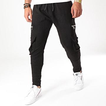 Ikao - Pantalon Jogging F622 Noir