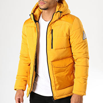 Jack And Jones - Doudoune Wayne Puffer Jaune Moutarde