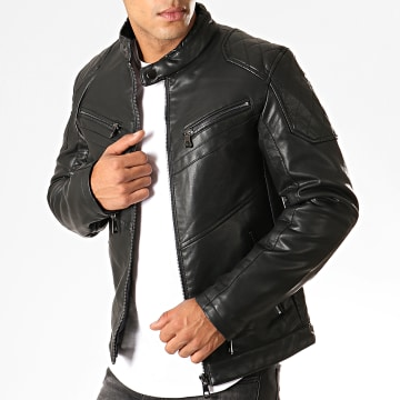 Veste Biker 931 Noir