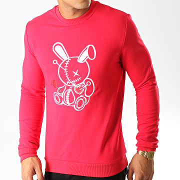 Sweat Crewneck JB18091 Rouge
