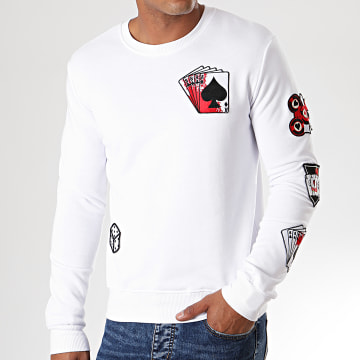 Sweat Crewneck DY010 Blanc