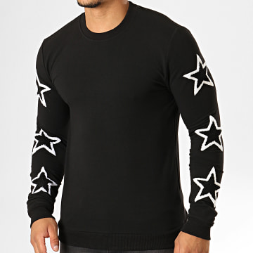 Sweat Crewneck JB18086 Noir