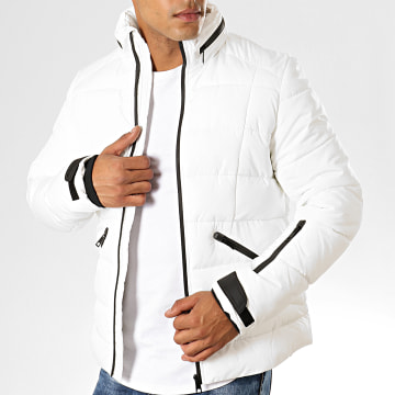 MTX - Doudoune 966 Blanc Noir