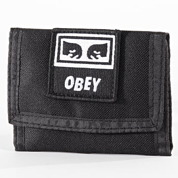 Obey - Portefeuille Takeover Noir