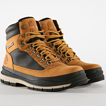 Timberland - Boots  Field Trekker Waterproof A1Z7X Wheat Nubuck Black