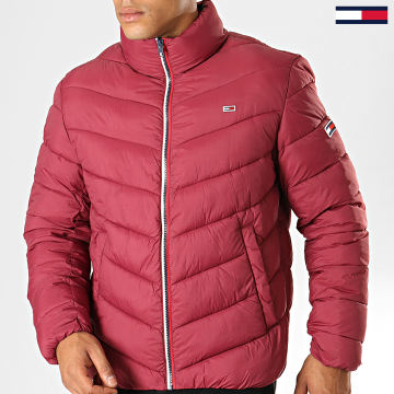 Tommy Jeans - Doudoune Essential Puffer 6485 Rouge