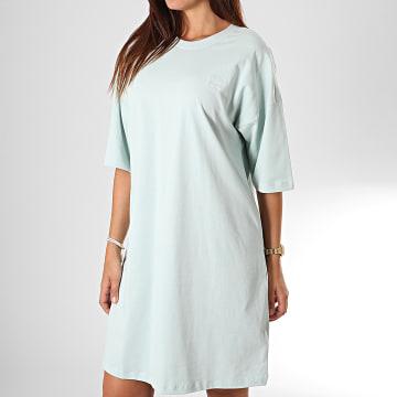 Adidas Originals - Robe Tee Shirt Femme Trefoil ED7580 Vert Clair