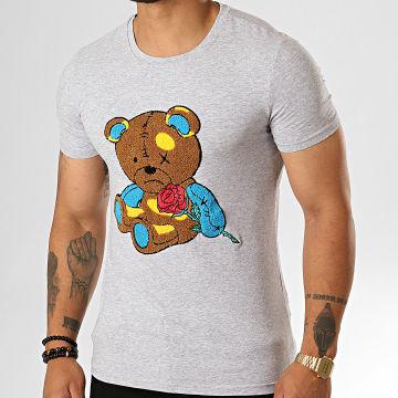 Tee Shirt BJ-006 Gris Chiné