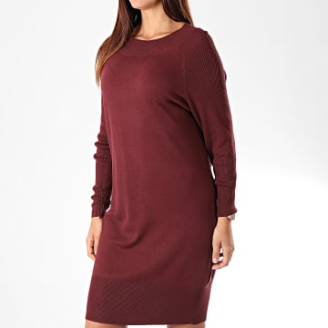 Robe Pull Femme Lacey Bordeaux