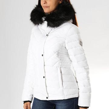 Doudoune Fourrure Femme Icelandic W5000029A Blanc