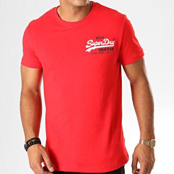 Tee Shirt Vintage Logo Racer M1000061A Rouge