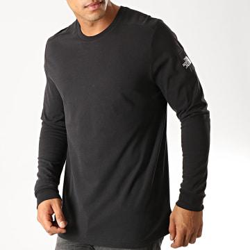 Tee Shirt Manches Longues Fine 2 3YHB Noir
