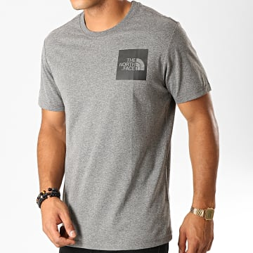 Tee Shirt Fine CEQ5 Gris Anthracite Chiné