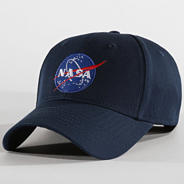 Alpha Industries - Casquette NASA Bleu Marine
