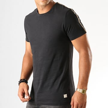 Tee Shirt A Bandes 20708921 Noir