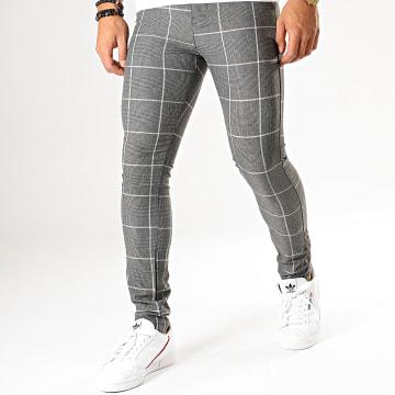 MTX - Pantalon A Carreaux DJ505 Gris