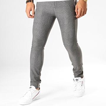 MTX - Pantalon A Carreaux DJ419 Gris