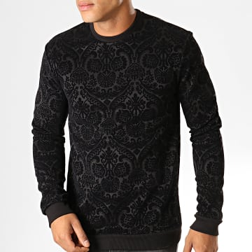 Uniplay - Sweat Crewneck UY437 Noir Renaissance