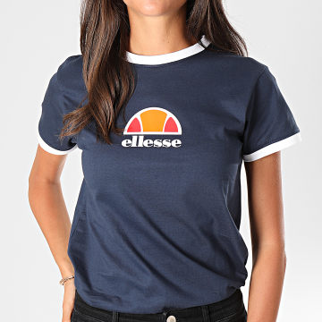 Tee Shirt Femme Orlanda SGC07380 Bleu Marine