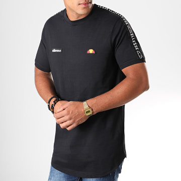 Ellesse - Tee Shirt Oversize A Bandes Fede SHC05907 Noir