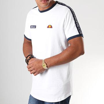 Tee Shirt Oversize A Bandes Fede SHC05907 Blanc