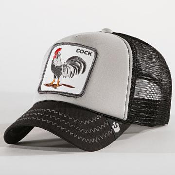 Goorin Bros - Casquette Trucker Cock Noir Gris