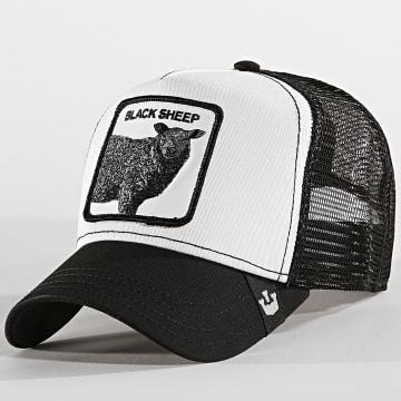 Goorin Bros - Casquette Trucker Black Sheep Noir Blanc