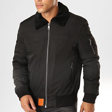 Bomber Col Mouton Curtiss Noir
