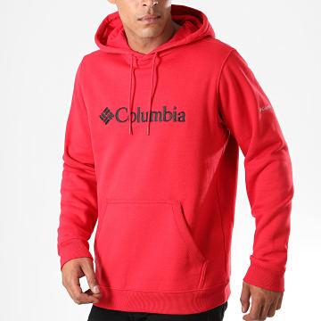 Sweat Capuche CSC Basic Logo Rouge