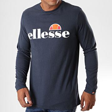 Tee Shirt Manches Longues Grazie SHC07406 Bleu Marine
