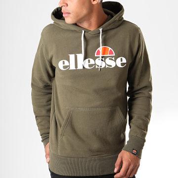 Ellesse - Sweat Capuche Gottero SHC07407 Vert Kaki