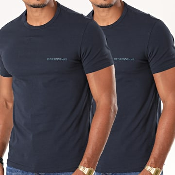 Lot De 2 Tee Shirt 111267-9A717 Bleu Marine