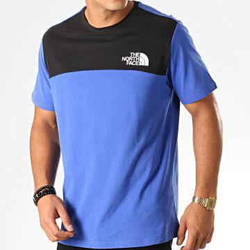 Tee Shirt 3XYC Bleu Roi Noir