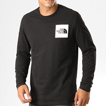 Tee Shirt Manches Longues Fine 37FT Noir