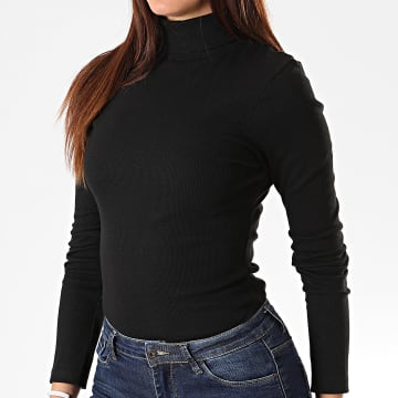 Pull Col Roulé Slim Femme 69Adrian Noir