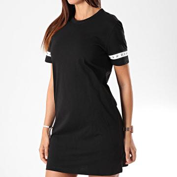 Robe Tee Shirt Femme Monogram Tape 2597 Noir
