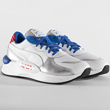 Baskets Femme RS 9 8 Space Agency 372509 Puma White Puma Silver