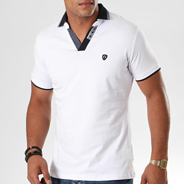 Polo Manches Courtes 9207 Blanc