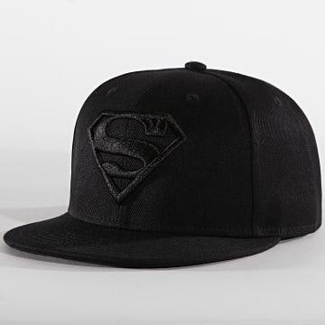 Casquette Snapback Original Logo Superman Noir