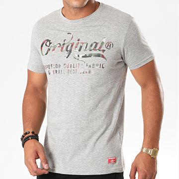 Tee Shirt Majora Gris Chiné