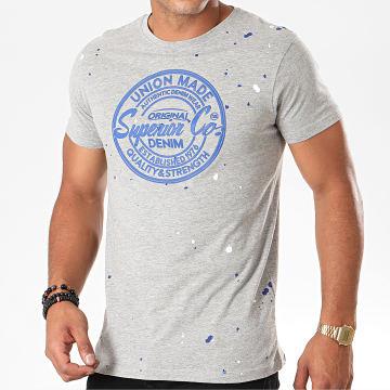 Tee Shirt Marda Gris Chiné