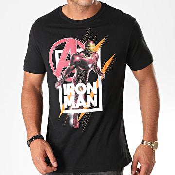 Tee Shirt Avengers End Game Iron Man Noir