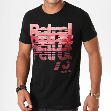 Tee Shirt 645 Noir Rose